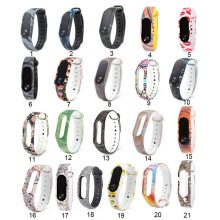 Funny Multicolors Silicone Replacement Watch Band