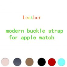 Leather Replacement Watch Band for Apple Watches