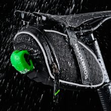Water Resistant Reflective Saddle Bag