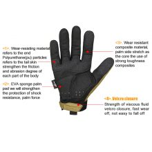 Military Style Tactical Half Finger Cycling Gloves