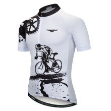 Unisex Polyester Cycling Jersey Short Sleeve