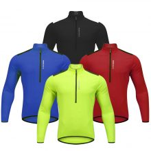 Long Sleeve Mens Cycling Jersey