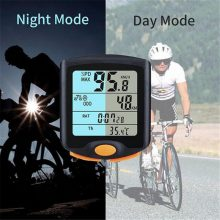 LCD Wireless Bicycle Computer Speedometer Digital Odometer Stopwatch Thermometer